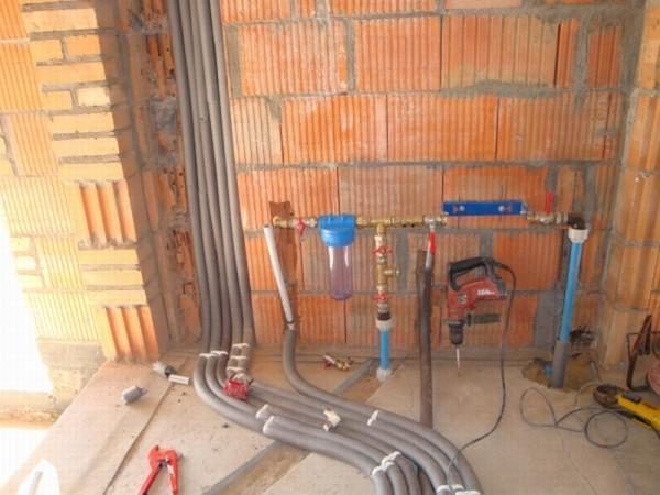 montaż instalacji wodnych